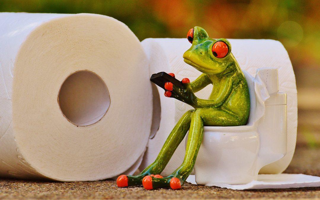Het verhaal van de lege toiletrol